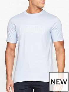 hugo-dicagolino-reverse-logo-crew-neck-t-shirt-blue