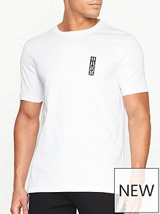 hugo-durni-vertical-logo-crew-t-shirt-white