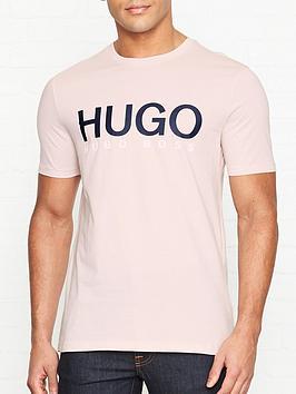 hugo-dolive-u3-logo-crew-t-shirt-pink