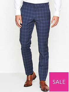 hugo-windowpane-check-suit-trousers-navy