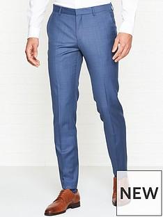 hugo-getlin-micro-check-suit-trousers--nbspblue