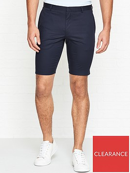 hugo-ferris-slim-fit-cotton-shorts-navy