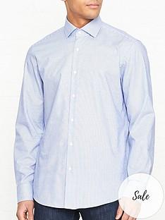 hugo-vordon-dobby-long-sleeve-shirt