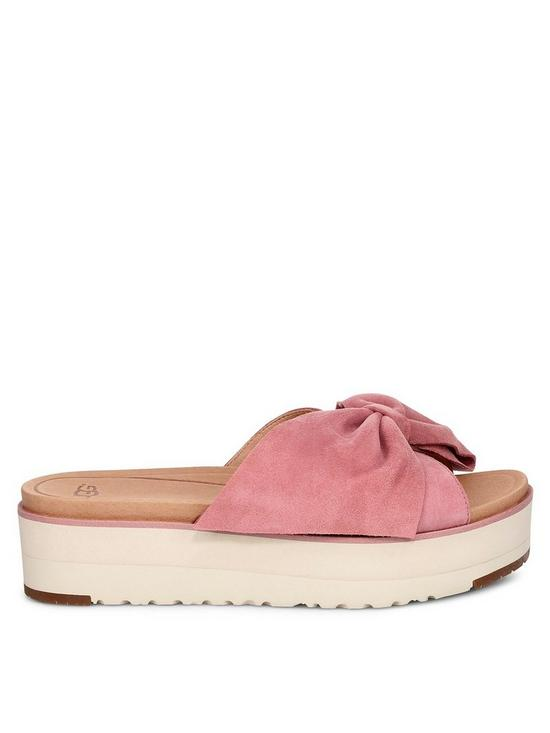 c2eff2ebb6e UGG Joan II Flatform Sandals - Pink