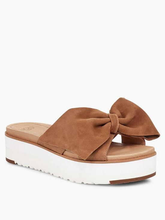 23acf13cfc1 UGG Ugg Joan II Flatform Sandals - Chestnut