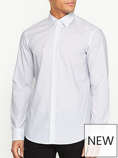 hugo-venzo-logo-print-long-sleeve-shirt-white