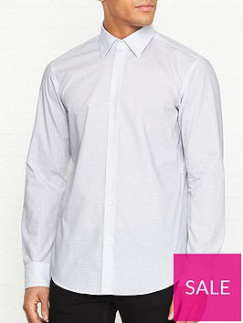 hugo-venzo-logo-print-long-sleeve-shirt-white