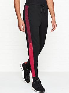 hugo-devry-cuffed-sweatpants--nbspblack