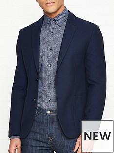 hugo-areltu-textured-jacket-navy