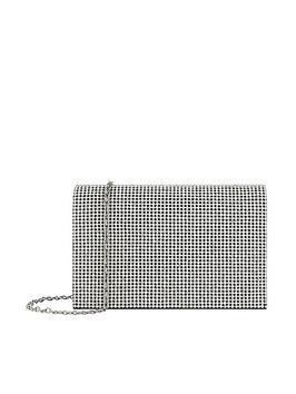accessorize-cara-diamante-chain-clutch-silver