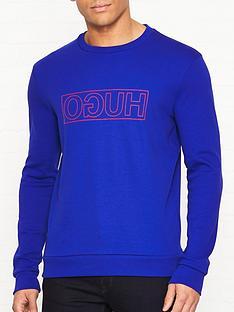 hugo-dicago-u6-logo-crew-sweatshirt-blue