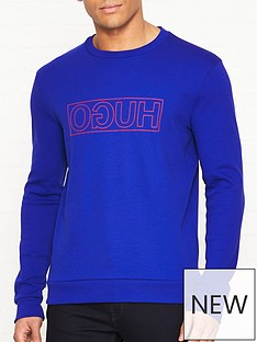 hugo-dicago-u6-logo-crew-sweatshirt-blue