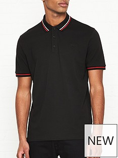 hugo-daruso-u1-tipped-short-sleeve-polo-shirt-black