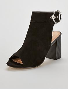 wallis-surprise-circle-detail-block-heeled-ankle-boots-black