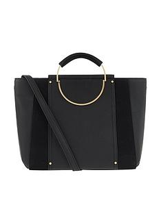 accessorize-dorris-circle-handheld-bag-black