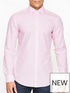 hugo-koey-long-sleeve-cotton-shirt-pink
