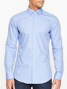 hugo-koey-long-sleeve-cotton-shirt-blue