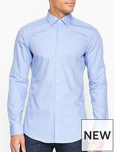 hugo-koey-long-sleeve-cotton-shirt-blue