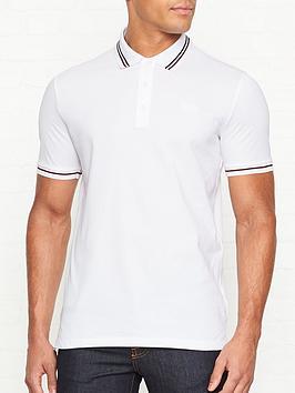 hugo-daruso-u1-tipped-short-sleeve-polo-shirt-white