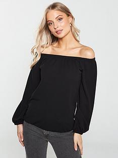 d9a1f61dea04c2 Bardot Tops | Off the Shoulder Tops | Very.co.uk