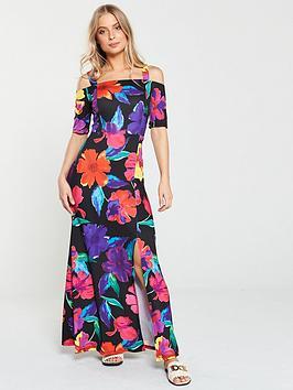 v-by-very-tall-printed-maxi-dress