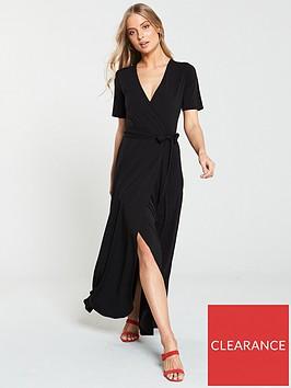 v-by-very-wrap-jersey-maxi-dress-black