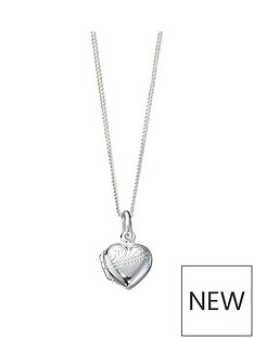 the-love-silver-collection-sterling-silver-half-engraved-heart-locket