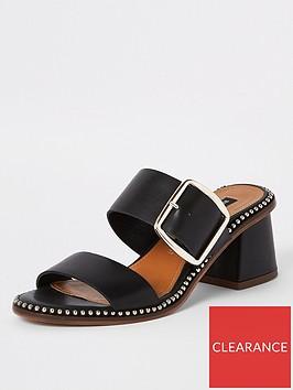 river-island-river-island-stud-edge-block-heel-mule-sandal-black