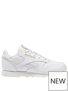 reebok-classic-leather-childrens-trainers-whitegreygold