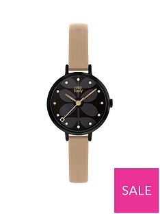 orla-kiely-black-and-pink-detail-dial-pink-leather-slim-strap-ladies-watch