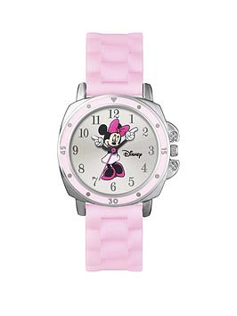 minnie-mouse-minnie-mouse-moving-hands-dial-pink-silicone-strap-kids-watch