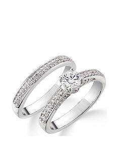 love-diamond-9ct-white-gold-75-point-diamond-total-bridal-set