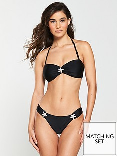 v-by-very-bandeau-star-trim-bikini-top-black