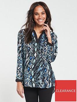 v-by-very-notch-neck-animal-blouse-snake