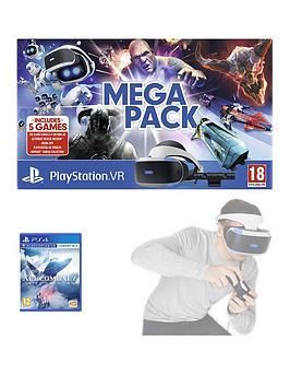 Playstation Vr (Psvr) Mega Pack Console Bundle *Includes 5 Games*