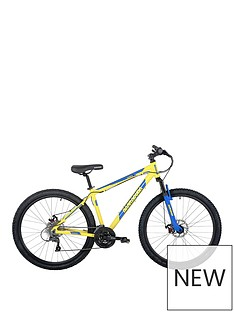 Barracuda Barracuda Draco 4 21 Inch Hardtail 24 Speed 27.5 Inch Yellow Blue Disc brakes