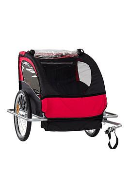two-seater-childrens-bike-trailer