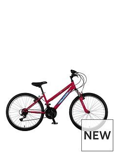 Venus Front Suspension Girls Mountain Bike 24 inch Wheel