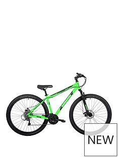 Barracuda Barracuda Draco 4 29ner 17 Inch Hardtail 24 Speed 29 Inch Green Black Disc brakes
