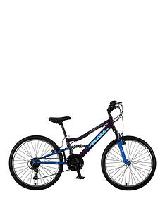 Falcon Falcon Siren Girls Bike 24 inch Wheel Dual Suspension Bike