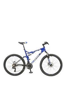 Boss Cycles Boss Rebound Mens Bike 26 inch Wheel Full Suspension Dual Disc