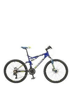Boss Cycles Boss Recoil Mens Bike 26 inch Wheel Full Suspension Dual Disc