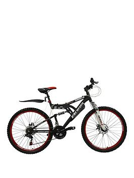 Dominator Dual Suspension Mens Mountain Bike 18 Inch Frame