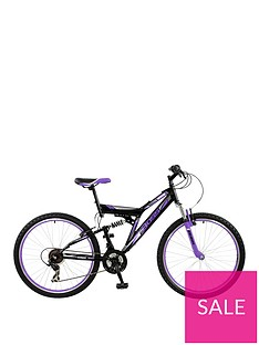 Boss Cycles Boss Venom Ladies Steel Mountain Bike 18 inch Frame