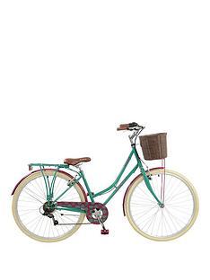 elswick-elswick-deluxe-womens-700c-heritage-bike-6-speed-thumb-shifter-muguards-rear-rack-front-basketpropstand