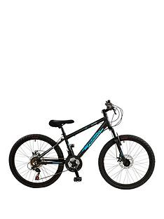 Nitro Full Suspension Boys Mountain Bike 24 inch Wheel