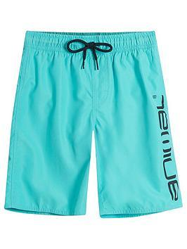 animal-boys-tannar-logo-swim-shorts-pacific-blue