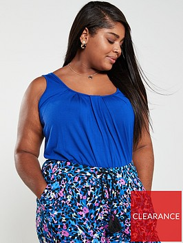 v-by-very-curve-strappy-bubble-hem-top-cobalt-blue