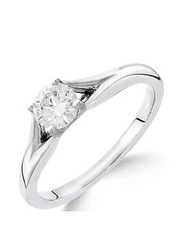 love-diamond-9ct-white-gold-13-carat-diamond-solitaire-with-tapered-shoulders