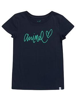 animal-girls-script-heart-short-sleeve-t-shirt-blue